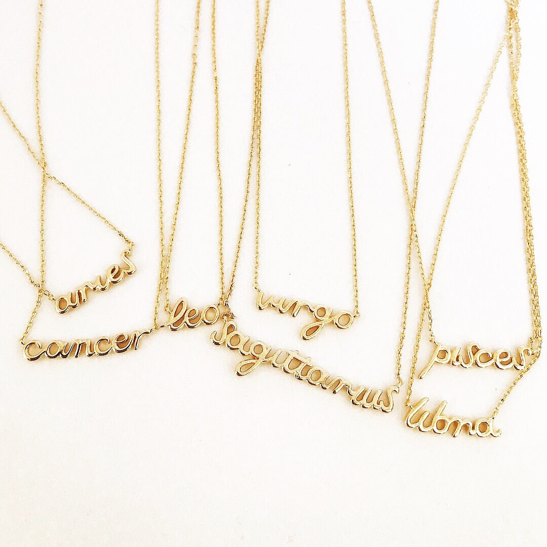 HOROSCOPE -Necklace