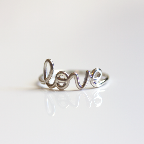 SILVER LOVE -RING