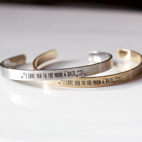 I LOVE YOU TO THE MOON & BACK - Bangle