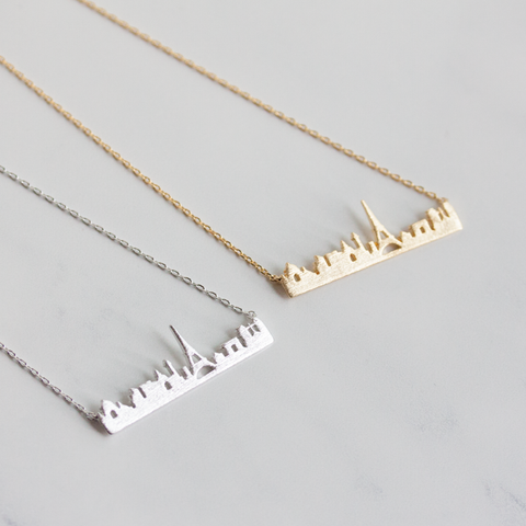 PARIS CITYSCAPE - Necklace