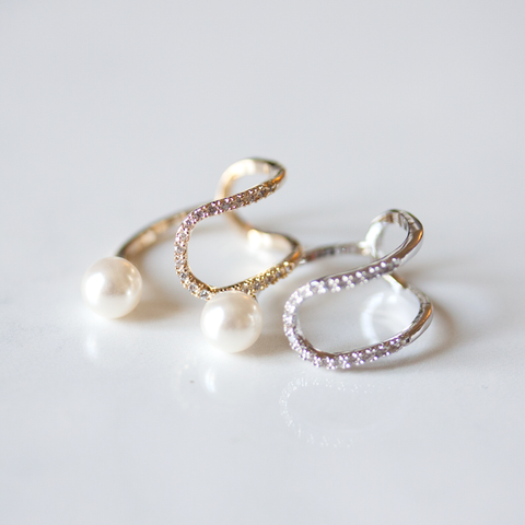 CRYSTAL PEARL - RING