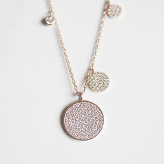 PAVE  DOTS - Necklace