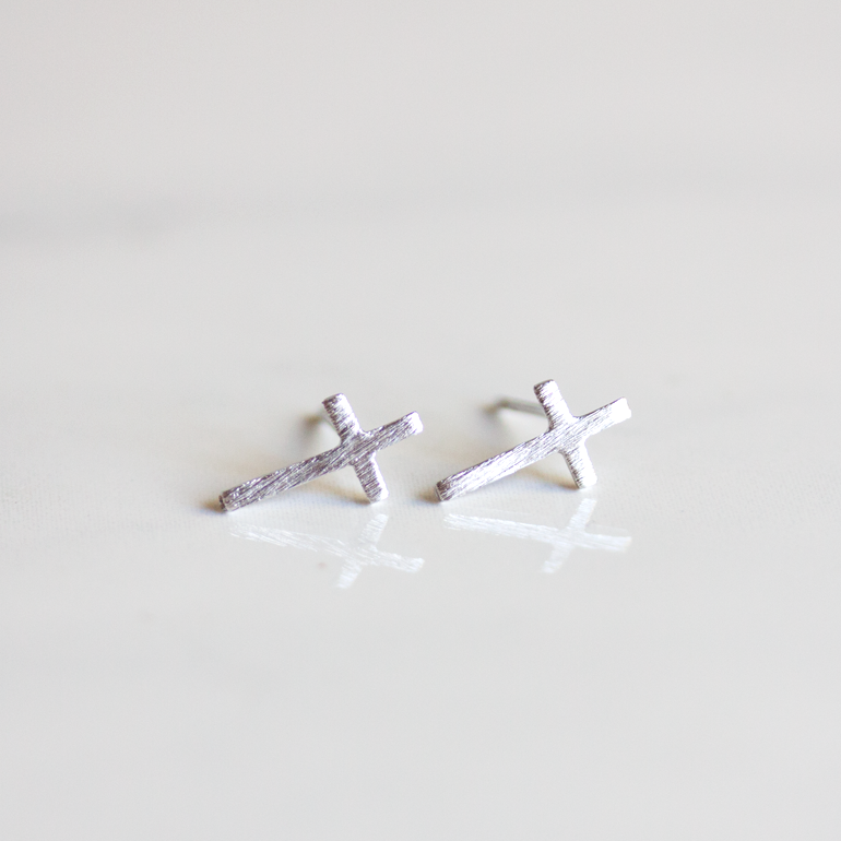 CROSS - EARRINGS