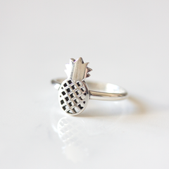 Silver Pineapple - Ring
