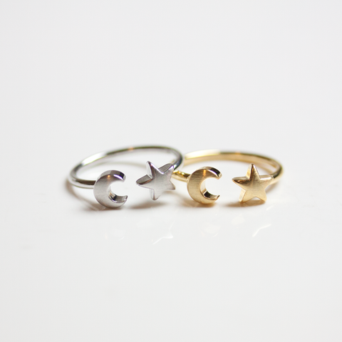 STAR & MOON - RING