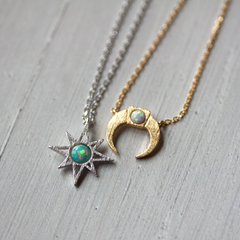 OPAL STARDUST - Necklace