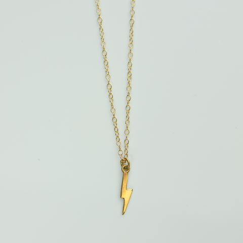 TINY THUNDERBOLT – NECKLACE