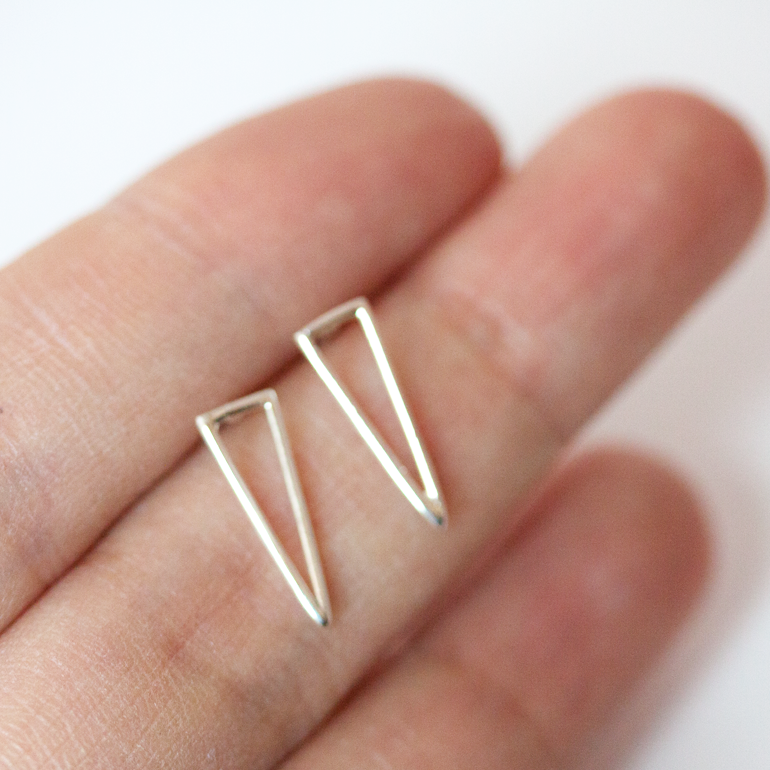 OPEN TRIANGLE - Earrings