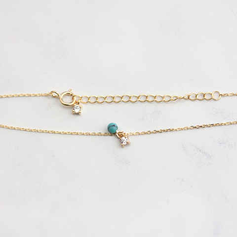 TURQUOISE BEAD - Necklaces