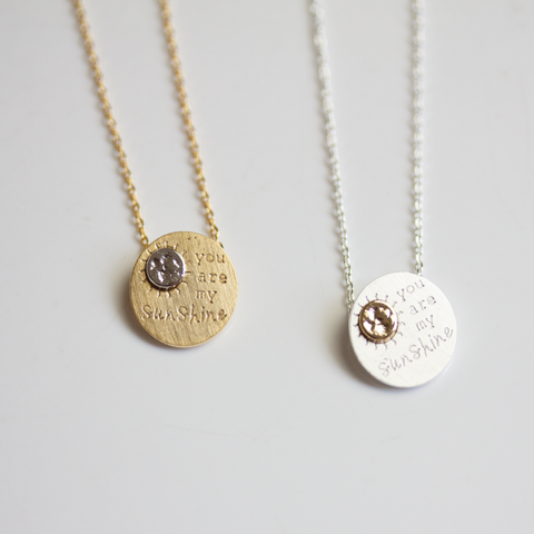 YOU ARE MY SUNSHINE -NECKLACE