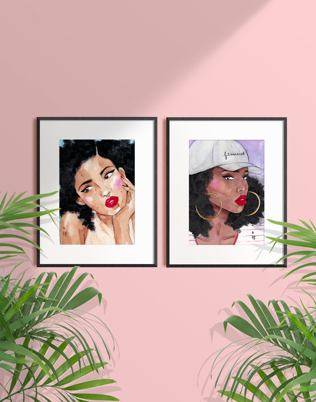 Pretty Young Thang Art Print
