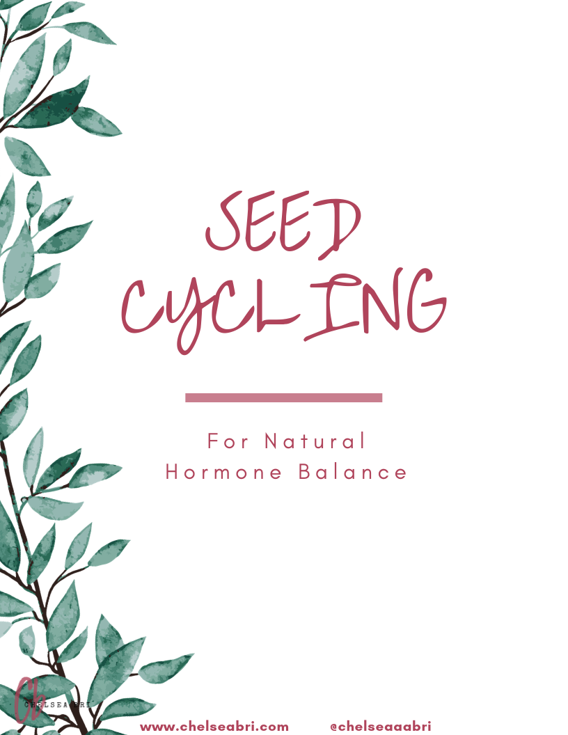 FREE Seed Cycling for Hormone Balance Guide
