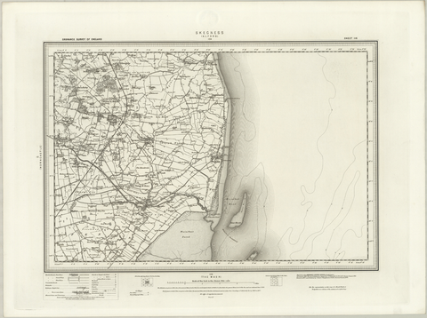 Skegness (Alford) OS Map