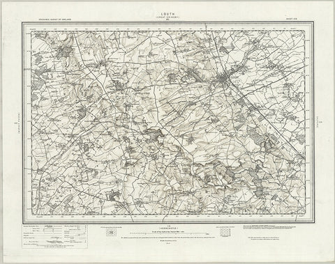 Louth (Great Crimsby) OS Map