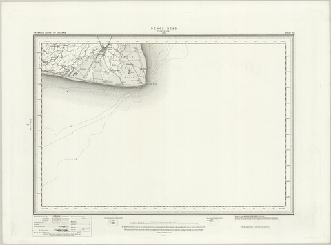 Denbich (Rhyl) OS Map
