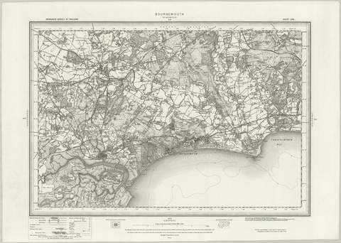 Bournemouth (Ringwood) OS Map