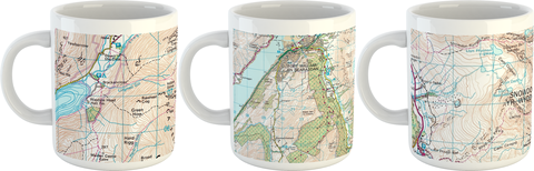 National Three Peaks Mug Set - Ben Nevis, Scafell Pike, Snowdonia