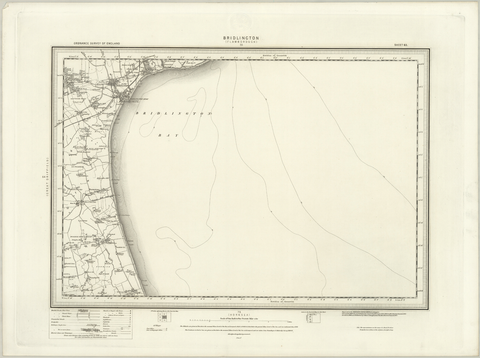Bridlington (Flamborough) OS Map