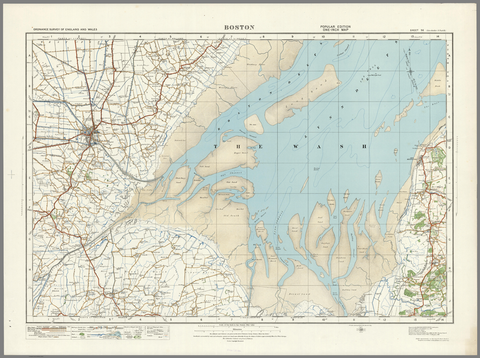 Boston - Ordnance Survey of England and Wales 1920 Series