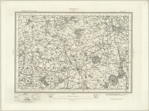 Natwich (Chester) OS Map