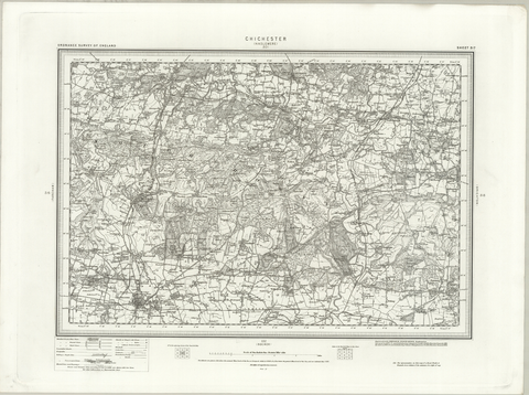Chichester (Haslemere) OS Map