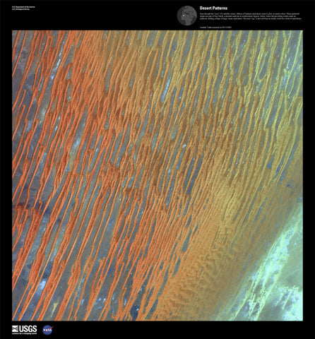 Desert Patterns - Earth as Art