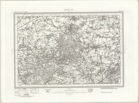 Windsor (Beaconsfield) OS Map