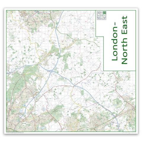 Sheet 3. London North East