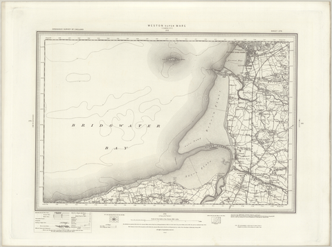 Weston Super Mare OS Map
