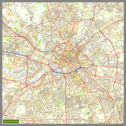Large British Street Maps I Love Maps