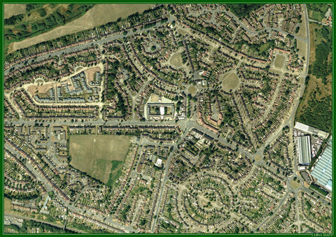 Personalised 1.4km x 1km Aerial Photograph