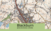 Blackburn and Environs Ordnance Survey Map 1920