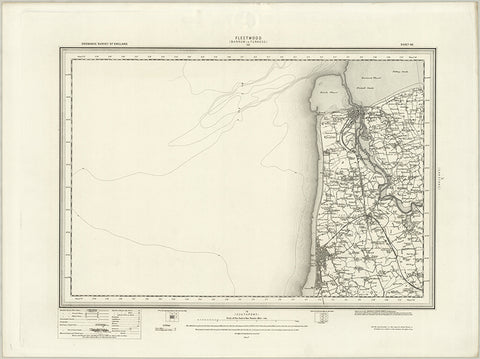 Fleetwood (Barrow in Furness) OS Map