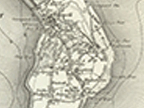 Weymouth (Dorchester) OS Map