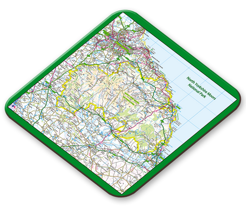 North Yorkshire National Park Placemat