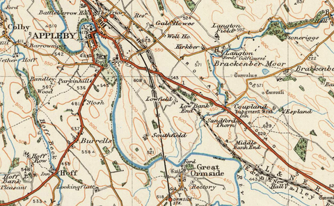 Kirby Stephen & Appleby - Ordnance Survey of England and Wales 1920 Series