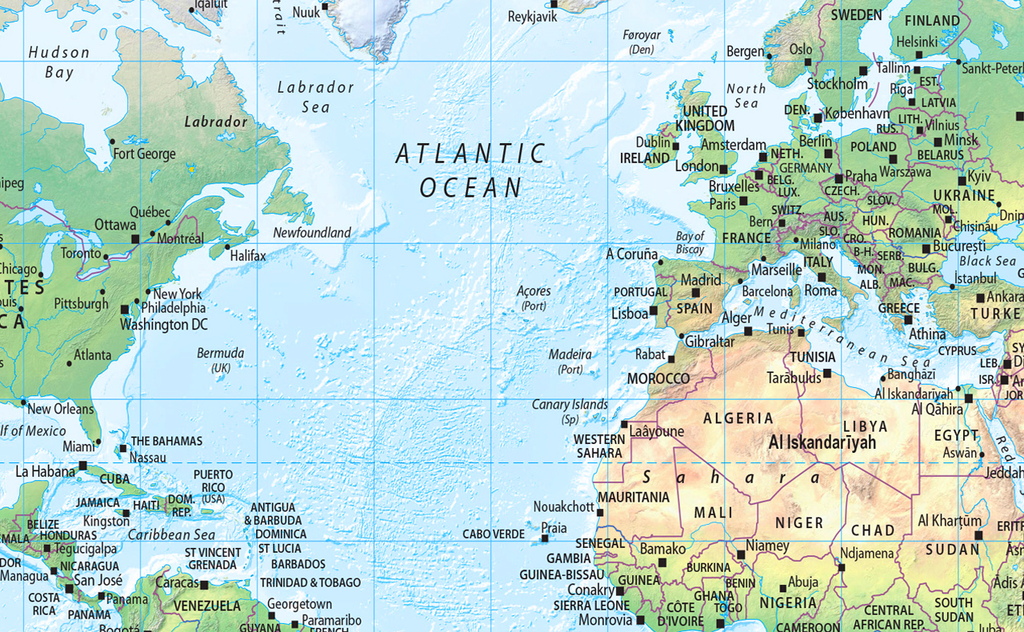 The world map set physical and political i love maps the world map set physical and political gumiabroncs Choice Image