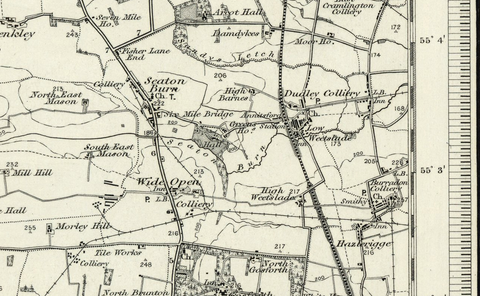 Morpeth OS Map