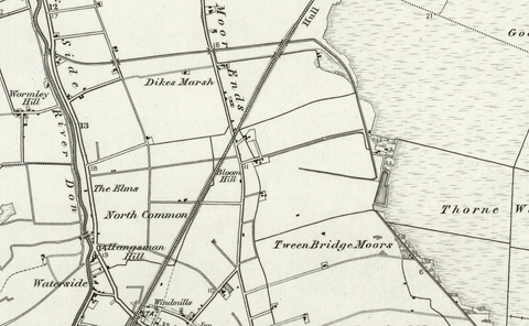 Goole (Selby) OS Map