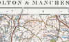 Bolton and Manchester 1920 Map
