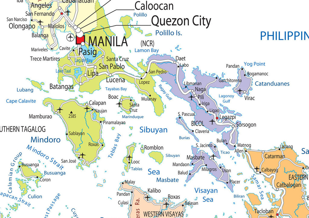 Philippines Political Map I Love Maps