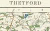 Thetford - Ordnance Survey of England and Wales 1920 Series