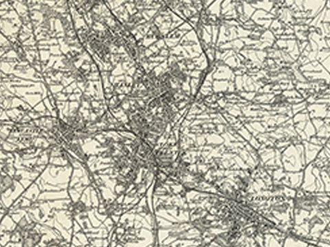 Stoke upon Trent (Macclesfield) OS Map