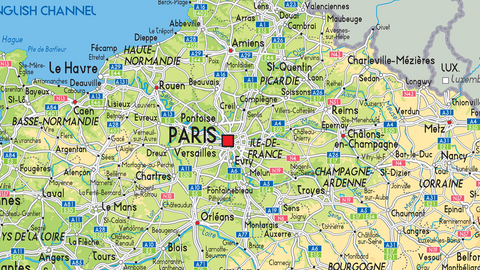 France Physical Map I Love Maps - France physical map