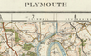 Plymouth - Ordnance Survey of England and Wales 1920 Series