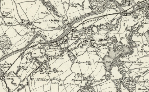 Sunderland (Tynemouth) OS Map