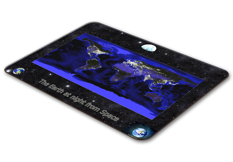 World From Space Placemat