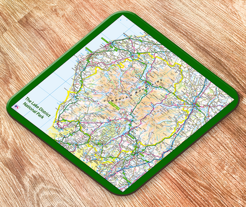 The Lake District National Park Placemat