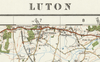 Luton - Ordnance Survey of England and Wales 1920 Series