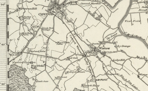 Selby (York) OS Map